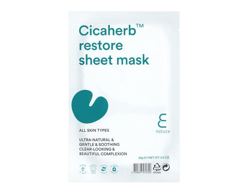 related product products/images/ENATURE-ENATURECicaherbRestoreSheetMask.jpg