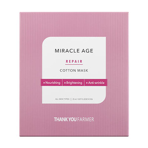 related product products/images/THANKYOUFARMER-MiracleAgeRepairCottonMask.jpg